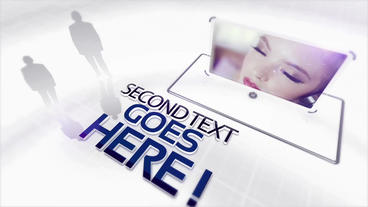 White elegance video presentation After Effects Template