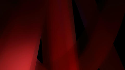red glowing shape Animation