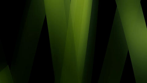 natural green glass Animation