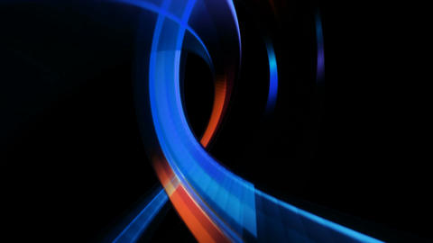 colorful neon torus Animation