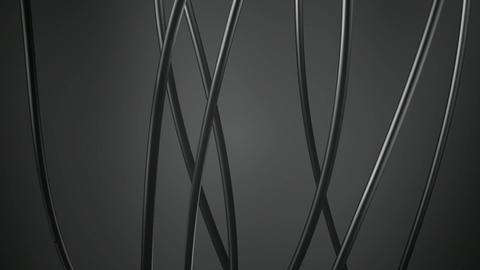 Metallic Lights Lines stock footage