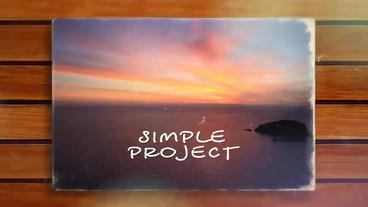 Memories Postcards After Effects Template