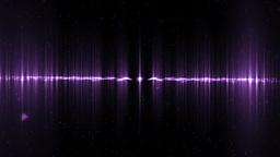 Audio violet equalizer Animation