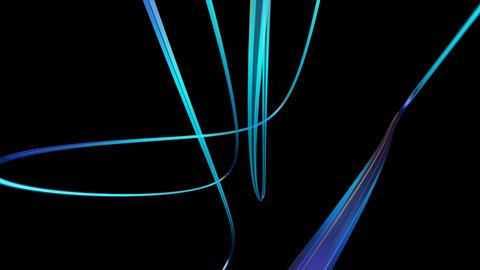 futuristic optical cables Animation