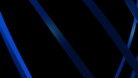 Blue Curve Lines stock footage