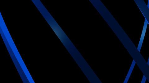 blue curve lines Animation