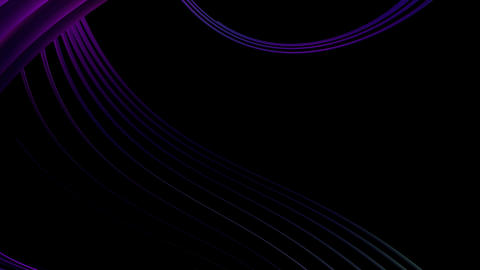 glowing violet lines Animation