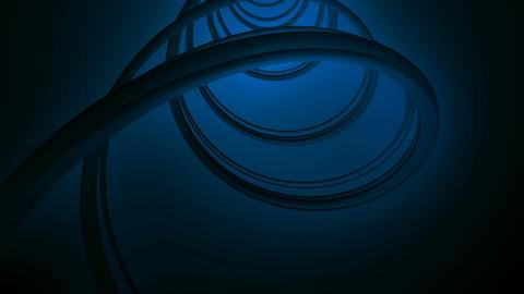 blue lights strokes Stock Video Footage