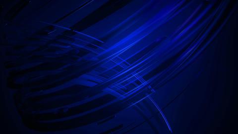 blue fiber lines Animation