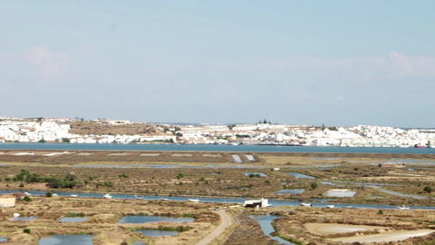 Panoramic view of Ayamonte Footage