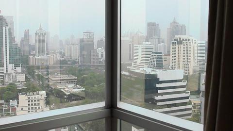 Panorama City Stock Video Footage