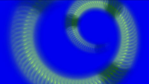 snake body and swirl metal chain tunnel hole Stock Video Footage