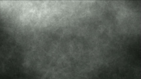 Smoky Clouds and particle in ghost background,TV noise,crayon or pencil texture Animation