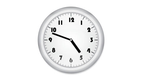 office clock loop2 Animation