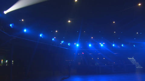 concert lights 1 Stock Video Footage