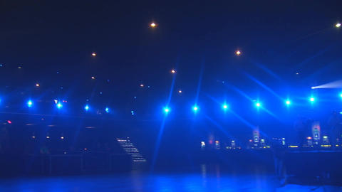 concert lights 1 Footage