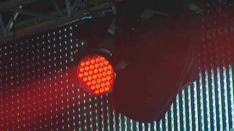 concert lights 5 Stock Video Footage