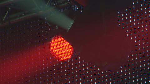 concert lights 5 Stock Video Footage