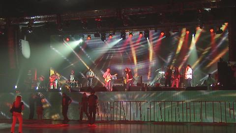 concert rock Stock Video Footage