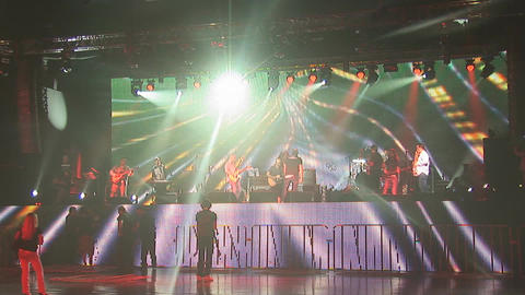 concert rock Footage