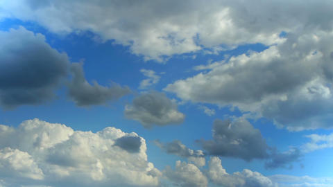 clouds timelapse 004 Stock Video Footage