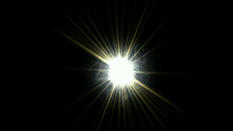 explosion rays light and roman numerals from electric... Stock Video Footage