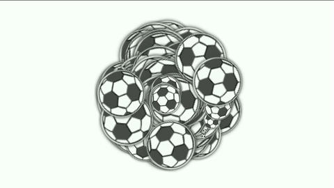 football,sports balls Animation