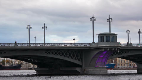 Annunciation Bridge, pan right to left Footage