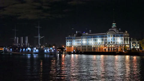 Nakhimov Naval School Stock Video Footage