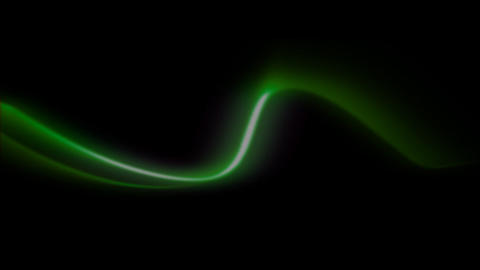 light stroke green Stock Video Footage