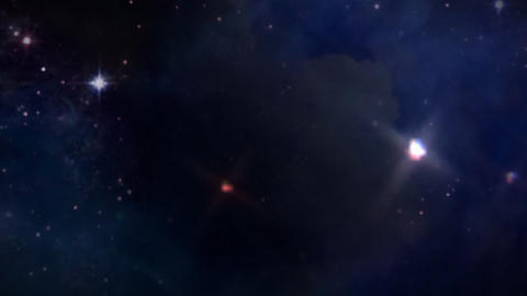 space star track out Stock Video Footage
