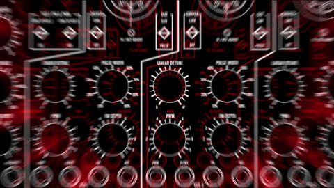 011 Moog LoopNeo Vj Loop Stock Video Footage