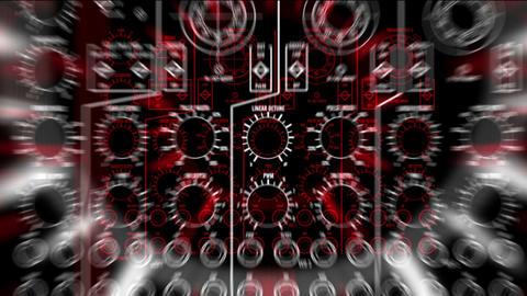 011 Moog LoopNeo Vj Loop Stock Video Footage