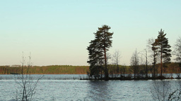 Day on a Lake Stock Video Footage