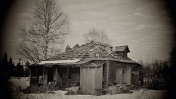 Abandoned House Stock Video Footage