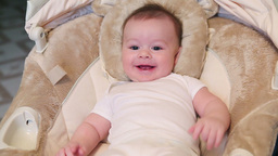 Baby Smiling Stock Video Footage