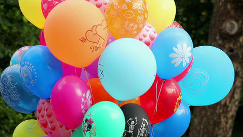 Balloons 2 Stock Video Footage