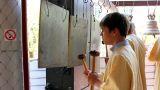 Church bells 1 Footage