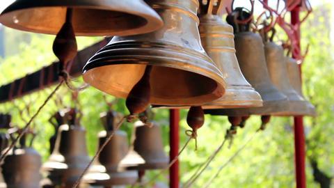 Church bells 7 Stock Video Footage