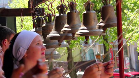 Church bells 9 Stock Video Footage
