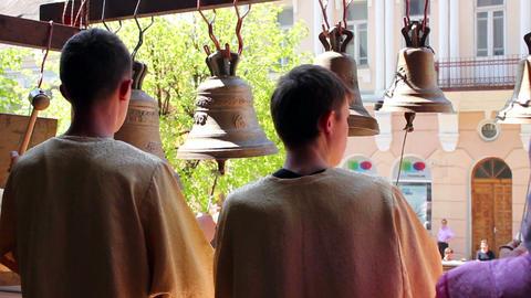 Church bells 15 Stock Video Footage