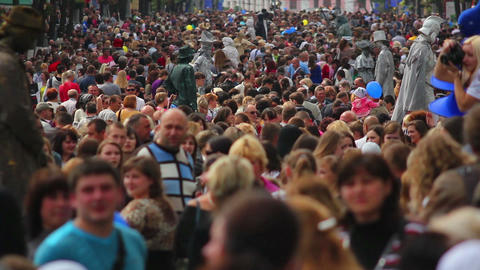 Crowd 9 Stock Video Footage