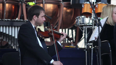 Orchestra 14 Stock Video Footage