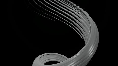 glowing white lines Animation