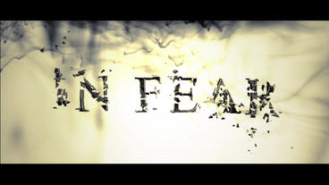 IN FEAR After Effects Project