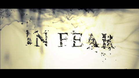 IN FEAR After Effects Template