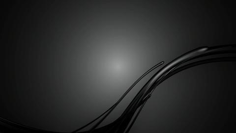 black glossy lines Animation