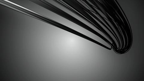 black lines movement Animation