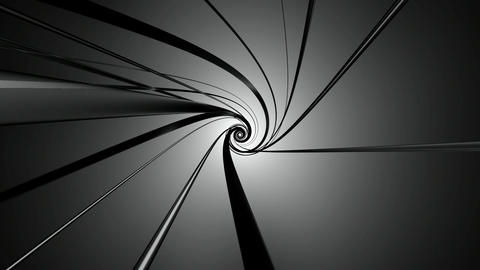 black swirl neon Animation