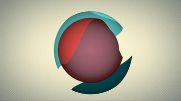 Sphere Shape Logo After Effects Template